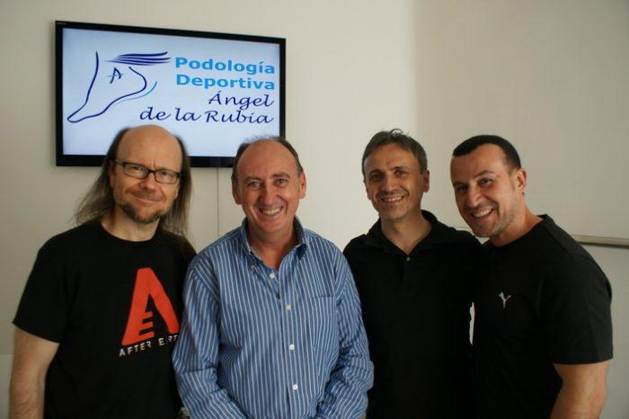 Santiago Segura, Angel de la Rubia, Jose Mota y Richy Castellanos
